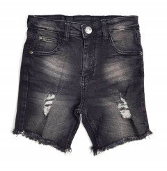 BAD BOY Boys Jean Shorty (BLUE) (3 to 6 Years)