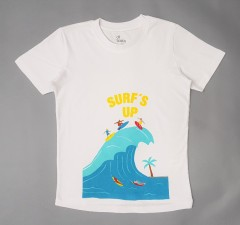 BASIC Boys T-Shirt (WHITE) (2 to 10 Years)