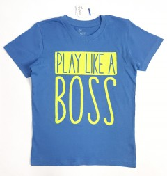 ALL BASICS Boys T-Shirt  ( BLUE ) ( 2 to 8 Years)