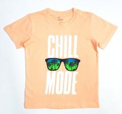 ALL BASICS Boys T-Shirt  (LIGHT ORANGE) ( 2 to 8 Years)