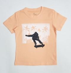 ALL BASICS Boys T-Shirt  ( LIGHT ORANGE) ( 2 to 6 Years)