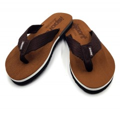ISPORT Mens Slippers ( BROWN ) (40 to 45)