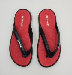 IY MNK Mens Slippers (RED - BLACK) (41 to 45)