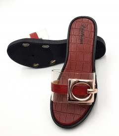 FASHION Ladies Slippers (MAROON) (37 to 42)