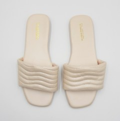 WATER FISH Ladies Sandals Shoes (CREAM) (37 to 41)