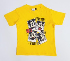 MICKEY MOUSE Boys T-Shirt (YELLOW) (2 to 9 Years)
