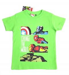 AVENGERS Boys T-Shirt (GREEN) (2 to 9 Years)