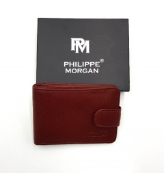 PHILIPPE MORGAN Mens Wallet (CAMEL) (OS)