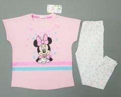 MINI CLUB BABY Girls 2 Pcs Pyjama Set (LIGHT PINK - WHITE) (2 to 5 Years)
