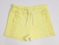 TISSAIA Girls Short (YELLOW) (3 to 10 Years)