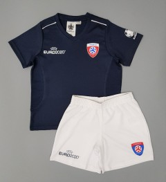 UEFA EURO 2020 Boys Football Kit (NAVY - WHITE) (4 to 14 Years)