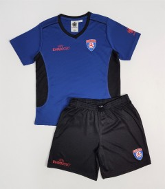 UEFA EURO 2020 Boys Football Kit (BLUE - BLACK) (8 to 14 Years)