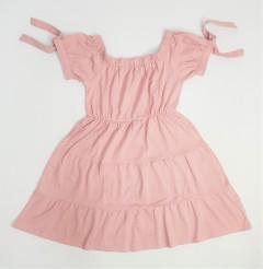DEREK HEART Ladies Dress (PINK) (S - M - L - XL)