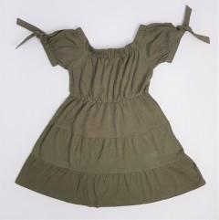 DEREK HEART Ladies Dress (DARK GREEN) (S - M - L - XL)