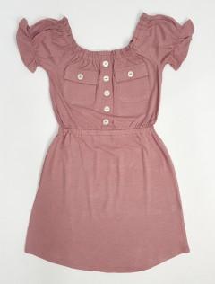 DEREK HEART Ladies Dress (PINK) (S - M - L - XL - 2XL)