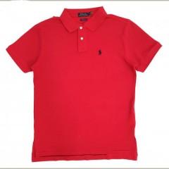 POLO Mens Polo Shirt (RED) (S - M - L - XL - 2XL)