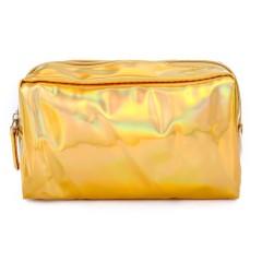 Makeup Bag (GOLD) (OS)