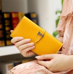 Ladies Wallet (LIGHT ORANGE) (Os)