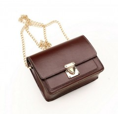 Ladies Bags (DARK BROWN) (Os)