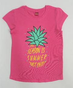 YFK Girls T-Shirt (PINK) (7 to 14 Years)