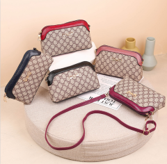 Ladies Bags (RED - CREAM) (Os)