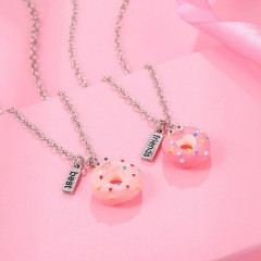 2 Pcs Pack Necklaces (PINK) (OS)