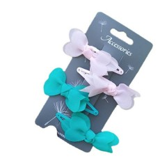 4 Pcs Pack Hair Accessories (AS PHOTO) (ONE SIZE)