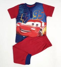 DISNEY Boys 2 Pcs Pyjama Set (RED) (2 to 6 Years)