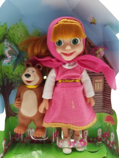2 PCS Dolls Toys (AS PHOTO) (ONE SIZE)