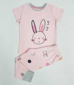 NIGHT NIGHT Girls 2 Pcs Pyjama Set (PINK) (1 to 7 Years)