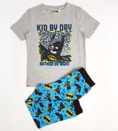 LEGO Boys 2 Pcs Pyjama Set ( BLUE - GRAY) (5 to 10Years)