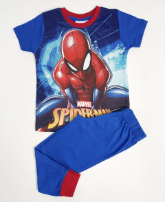 SPIDER-MAN Boys 2 Pcs Pyjama Set ( BLUE) (3 to 8 Years)