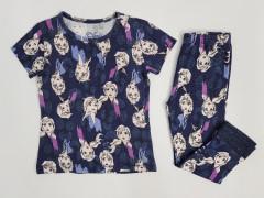 Girls 2 Pcs Pyjama Set (NAVY) (2 to 8 Years)