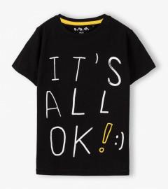 KIDS Boys T-Shirt (BLACK) (98 to 128 CM)