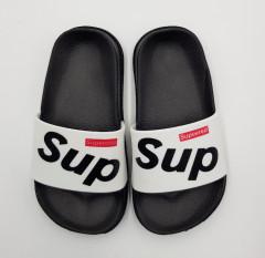 SUPEERED Boys Slippers (BLACK - WHITE) (25 to 30)