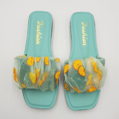 FASHION Ladies Slippers (LIGHT BLUE) (36 to 41)