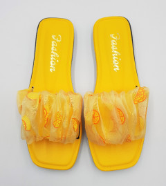 FASHION Ladies Slippers (YELLOW) (36 to 41)