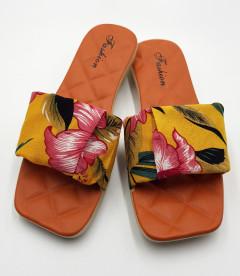 FASHION Ladies Slippers ( ORANGE ) (36 to 41)