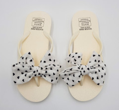Ladies Slippers (CREAM - WHITE) (36 to 41)