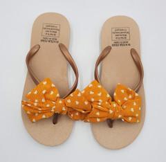 Ladies Slippers (BROWN - ORANGE) (36 to 41)