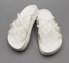 LMD  Ladies Slipper (WHITE) (36 to 41)