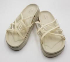 LMD  Ladies Slippers ( KHAKI) (36 to 41)