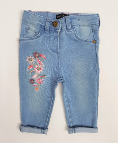 INEXTENSO Girls Jeans (BLUE) (3 to 30 Months)