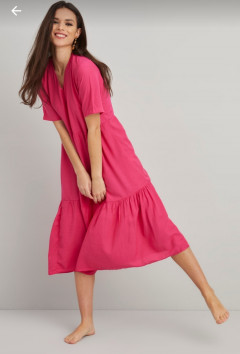 RED QUEEN Ladies Turkey Dress (PINK) (S - M - L)