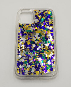 Mobile Cover (BLUE - YELLOW) (IP-11)