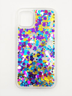 Mobile Cover (BLUE - PURPLE - YELLOW) (IP-11)