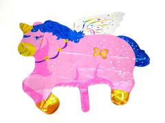 Balloon With Unicorn Design (PINK) (Os)