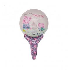 Cartoon Little Pig Pig and friends Birthday Decoration Ballon (PURPLE) (OS)