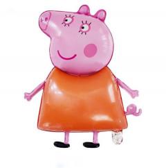 Balloon With Peppa Pig Design (PINK - ORANGE) ( OS )