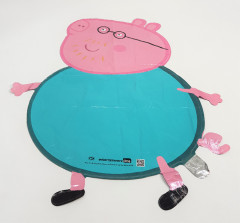 Balloon With Peppa Pig Design (PINK - BLUE) ( ONE SIZE )